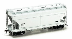 N Scale - Athearn - 12264 - Covered Hopper, 2-Bay, ACF Centerflow - General Electric Railcar Services - 90405