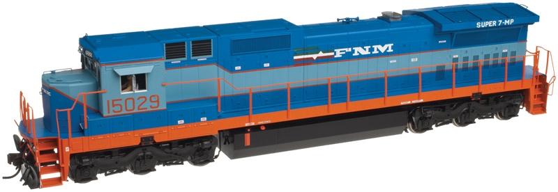 N Scale - Atlas - 40 002 707 - Locomotive, Diesel, GE Dash 8 - Ferrocarriles Nacionales de México - 15029