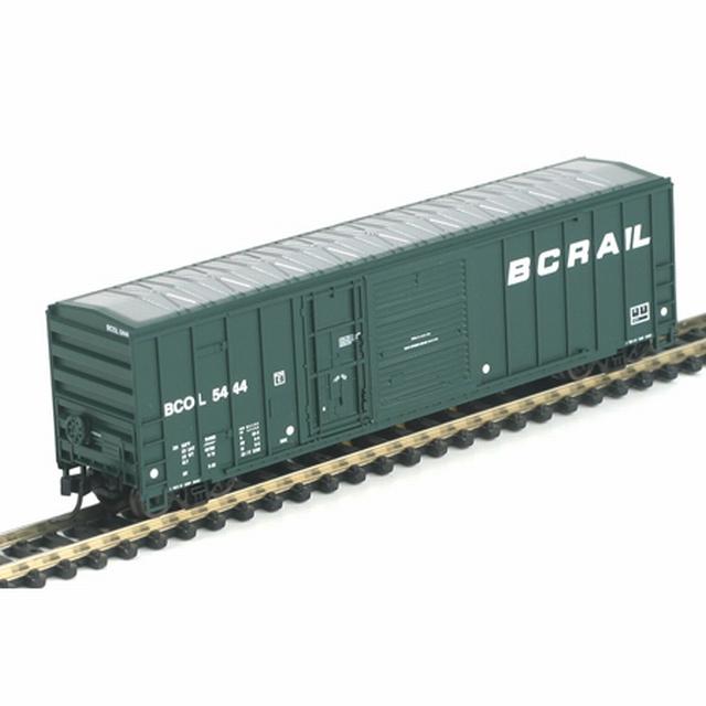 N Scale - Athearn - 11222 - Boxcar, 50 Foot, FMC, 5077 - British Columbia - 5421