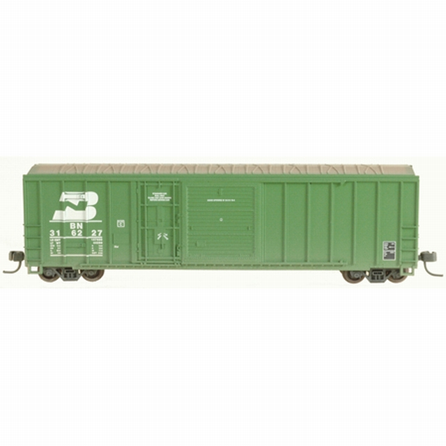 N Scale - Athearn - 11224 - Boxcar, 50 Foot, FMC, 5077 - Burlington Northern - 316212