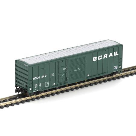 N Scale - Athearn - 11141 - Boxcar, 50 Foot, FMC, 5077 - British Columbia - 5421