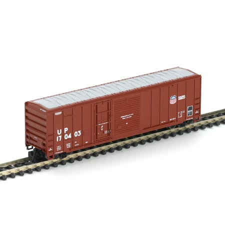 N Scale - Athearn - 11151 - Boxcar, 50 Foot, FMC, 5077 - Union Pacific - 170403
