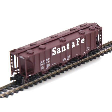 N Scale - Athearn - 11269 - Covered Hopper, 3-Bay, PS2 2893 - Santa Fe - 300441