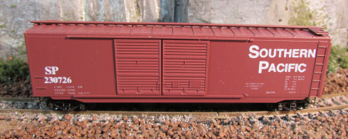 N Scale - The Freight Yard - 9601B - Boxcar, 50 Foot, PS-1 - Southern Pacific - 230624