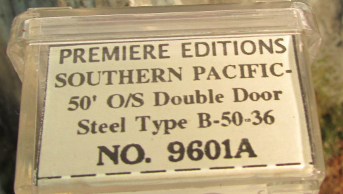 N Scale - The Freight Yard - 9601A - Boxcar, 50 Foot, PS-1 - Southern Pacific - 230726