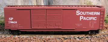 N Scale - The Freight Yard - 9601AB - Boxcar, 50 Foot, PS-1 - Southern Pacific - 230726, 230624