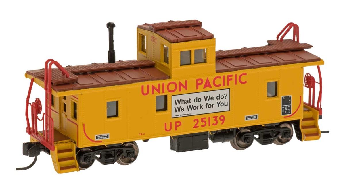 N Scale - Centralia Car Shops - 6065-08 - Caboose, Cupola, Steel - Union Pacific - 25139
