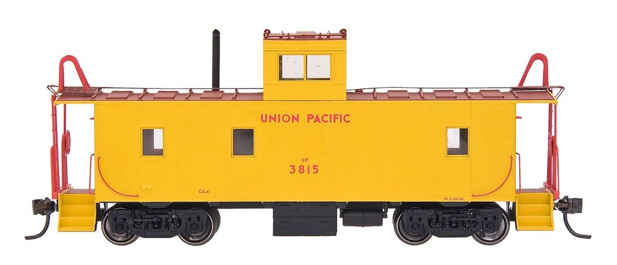N Scale - Centralia Car Shops - 6066-15 - Caboose, Cupola, Steel - Union Pacific - 25073
