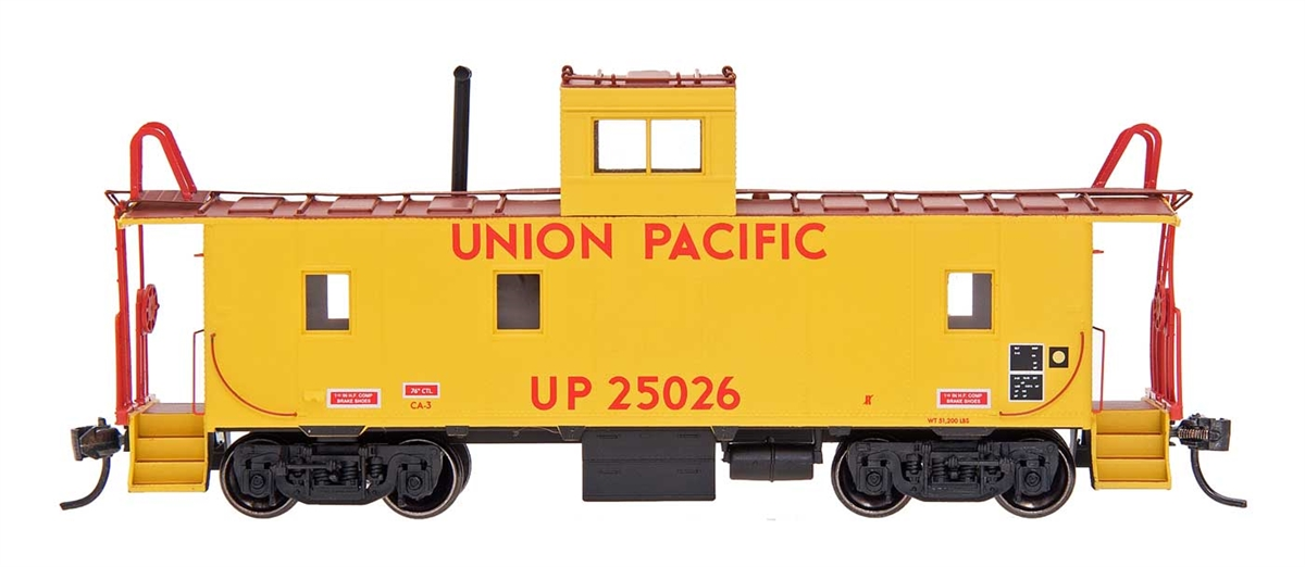 N Scale - Centralia Car Shops - 6067-14 - Caboose, Cupola, Steel - Union Pacific - 25061