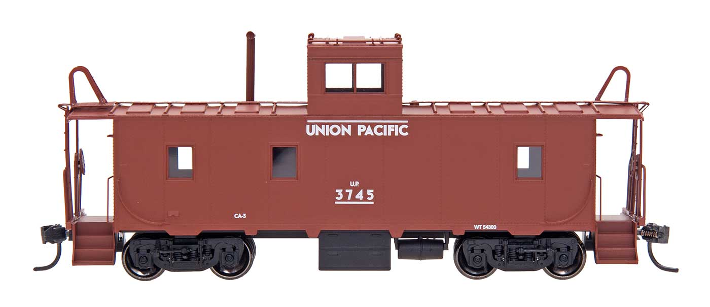 N Scale - Centralia Car Shops - 6069-06 - Caboose, Cupola, Steel - Union Pacific - 3771