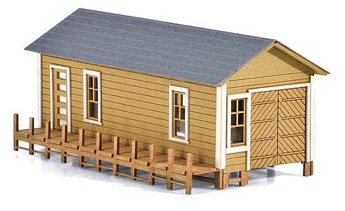 N Scale - Micro-Trains - 499 90 925 - Boat House - Residential Structures - Boat House