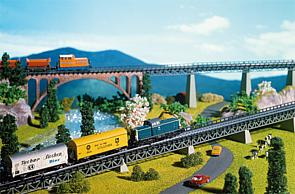 N Scale - Faller - 222540 - Bridge Track Bed - Railroad Structures