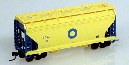 N Scale - Atlas - 39202 - Covered Hopper, 2-Bay, ACF Centerflow - Blue Circle Industries - 11