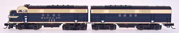 N Scale - InterMountain - 69001-12 - Locomotive, Diesel, EMD FT - Santa Fe - 135-A