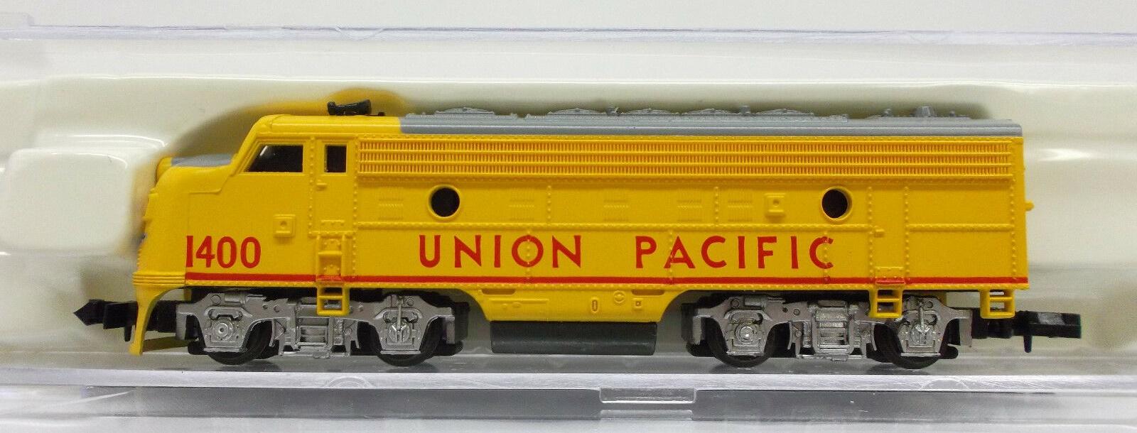 N Scale - Life-Like - 7752 - Locomotive, Diesel, EMD F7 - Union Pacific - 1400