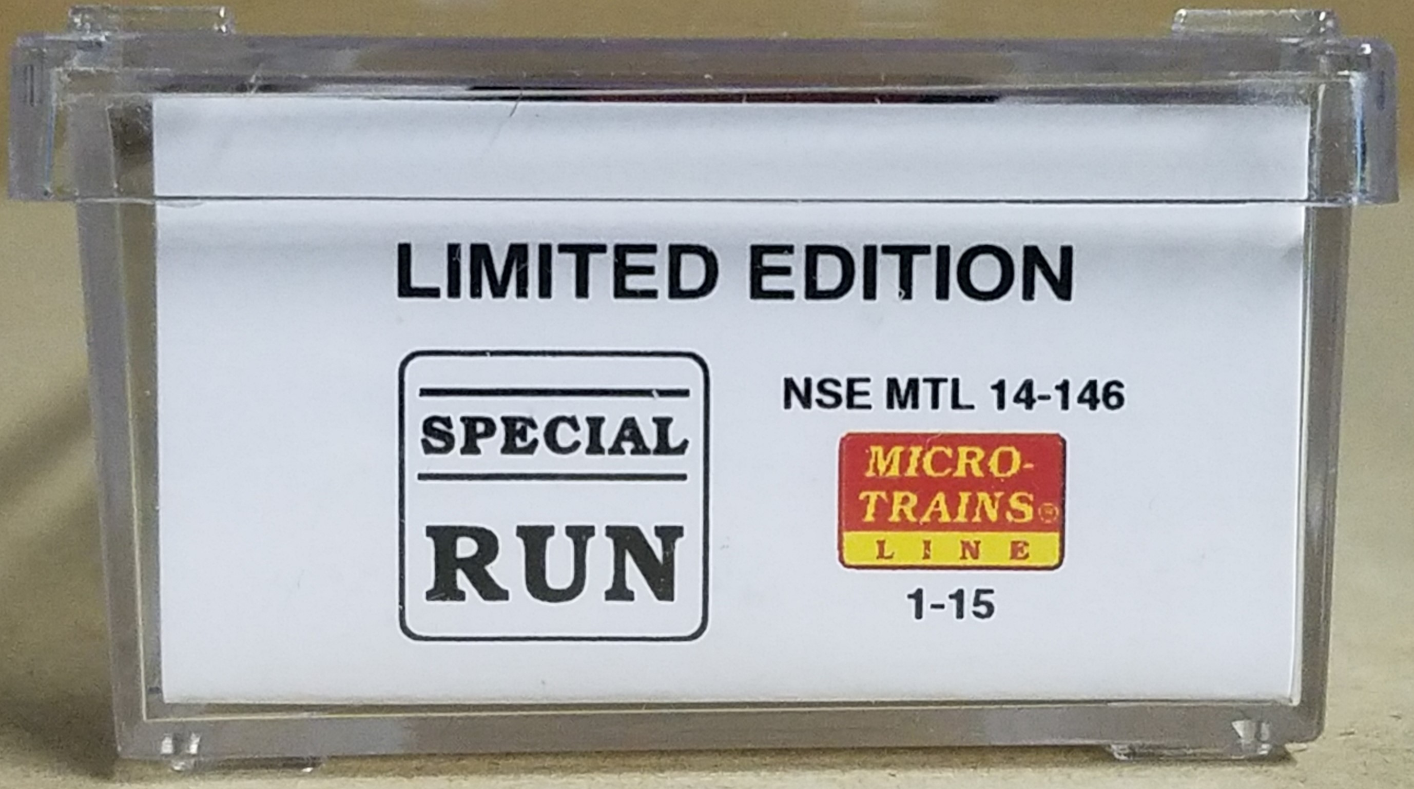 N Scale - Micro-Trains - NSE MTL 14-146 - Passenger Car, Heavyweight, Pullman, Observation - Norfolk Southern - 21
