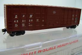 N Scale - Roundhouse - 81707 - Boxcar, 50 Foot, PS-1 - Louisville & Nashville - 480020