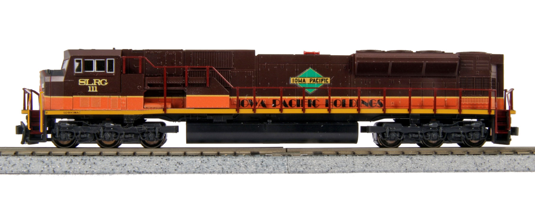N Scale - Kato USA - 176-5621-KB1 - Locomotive, Diesel, EMD SD90MAC - San Luis & Rio Grande - 111