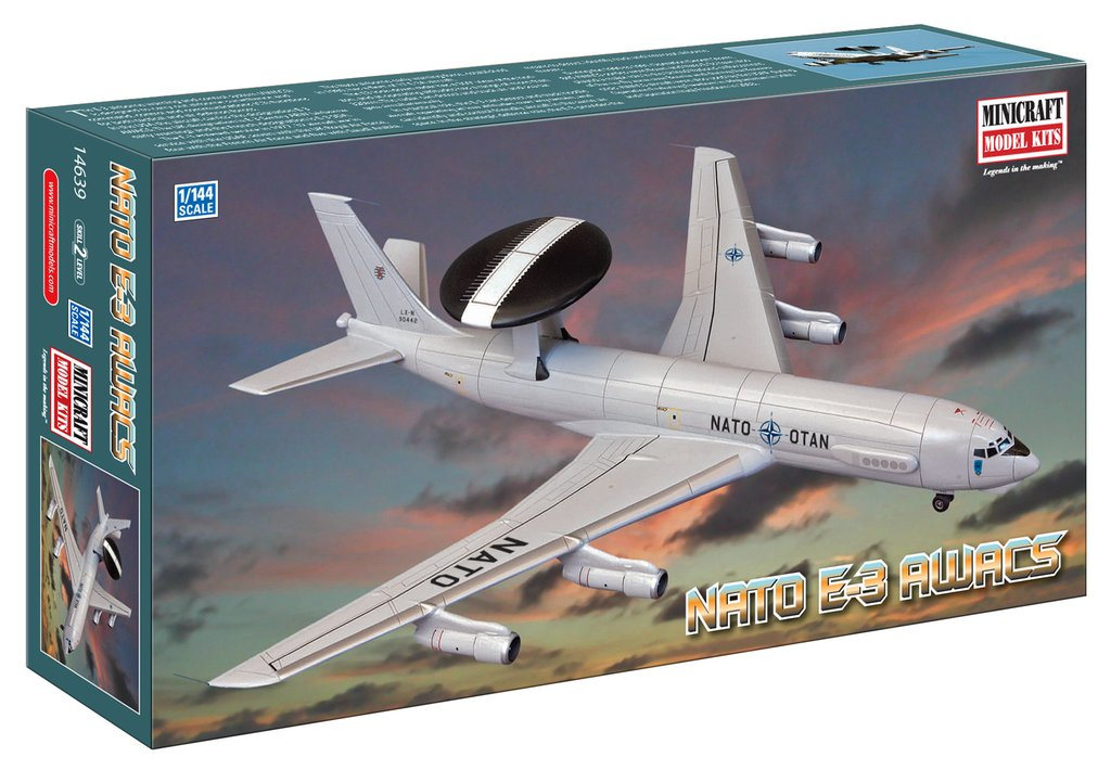 N Scale - Minicraft - 14639 - Vehicle, Aircraft - NATO