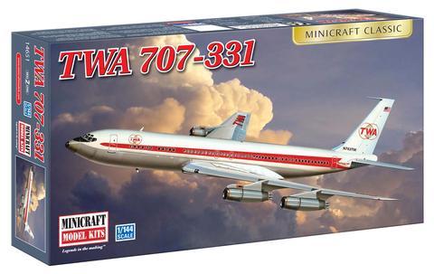 N Scale - Minicraft - 14651 - Vehicle, Aircraft - TWA