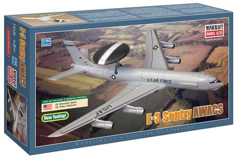 N Scale - Minicraft - 14526 - Vehicle, Aircraft - United States Air Force