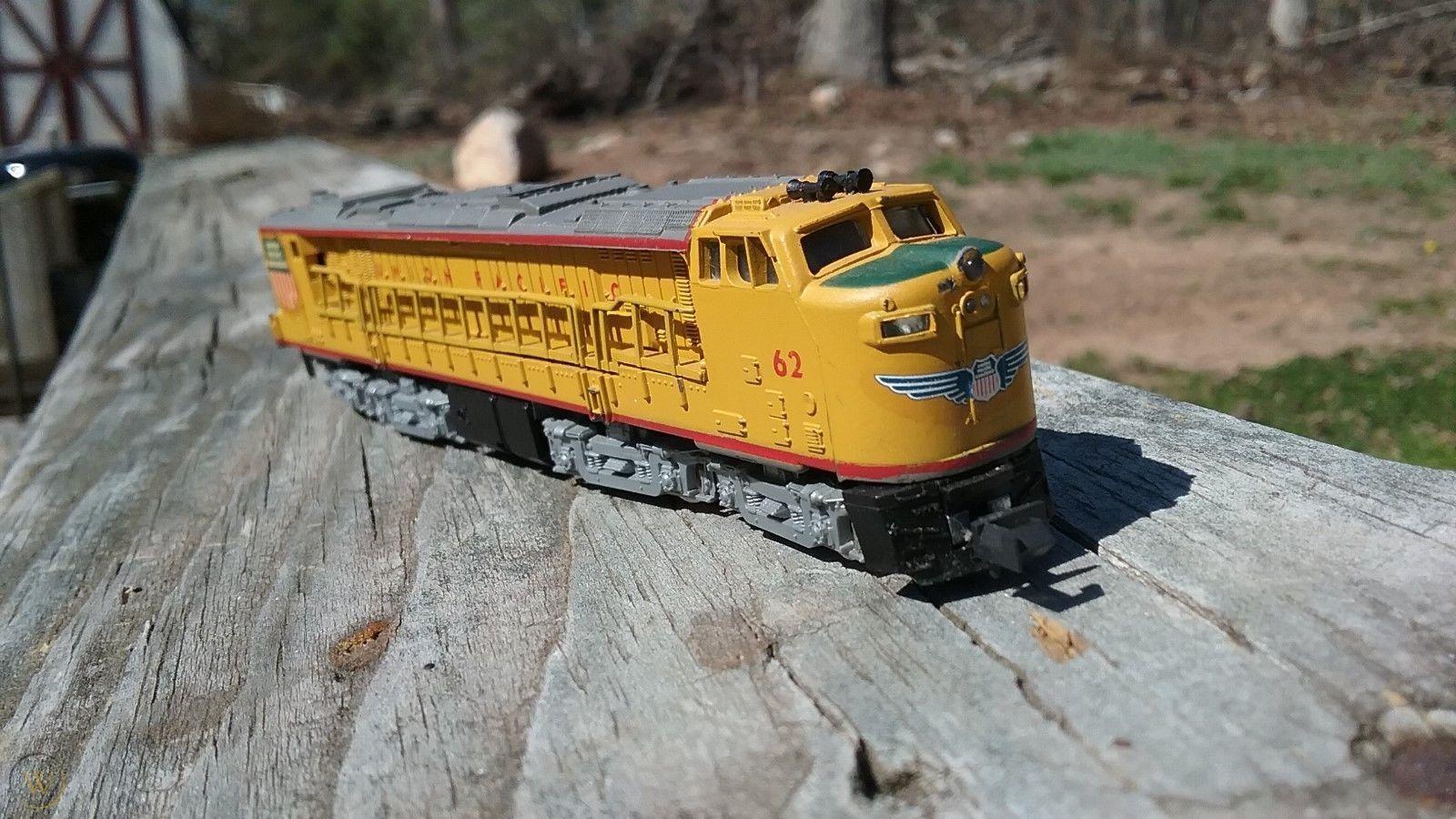 N Scale - Con-Cor - 001-03321B - Locomotive, GE, Gas Turbine Electric - Union Pacific - 62