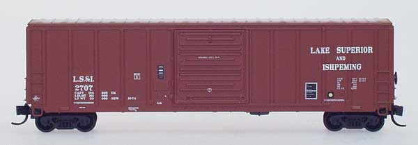 N Scale - InterMountain - 67515-02 - Boxcar, 50 Foot, PS-1 - Lake Superior & Ishpeming - 2702