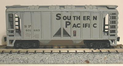 N Scale - V-Line - UNKNOWN - Covered Hopper, 2-Bay, ACF 36 Foot - Southern Pacific - 401683