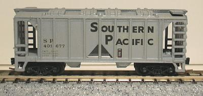 N Scale - V-Line - UNKNOWN - Covered Hopper, 2-Bay, ACF 36 Foot - Southern Pacific - 401677