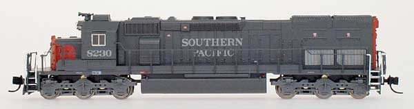 N Scale - InterMountain - 69421-06 - Locomotive, Diesel, EMD SD40T-2 - Southern Pacific - 8546