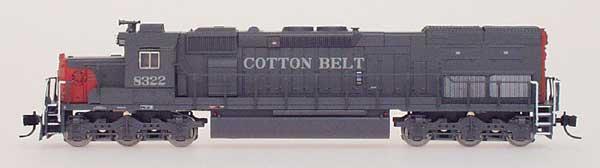 N Scale - InterMountain - 69422D-08 - Locomotive, Diesel, EMD SD40T-2 - Cotton Belt - 8323