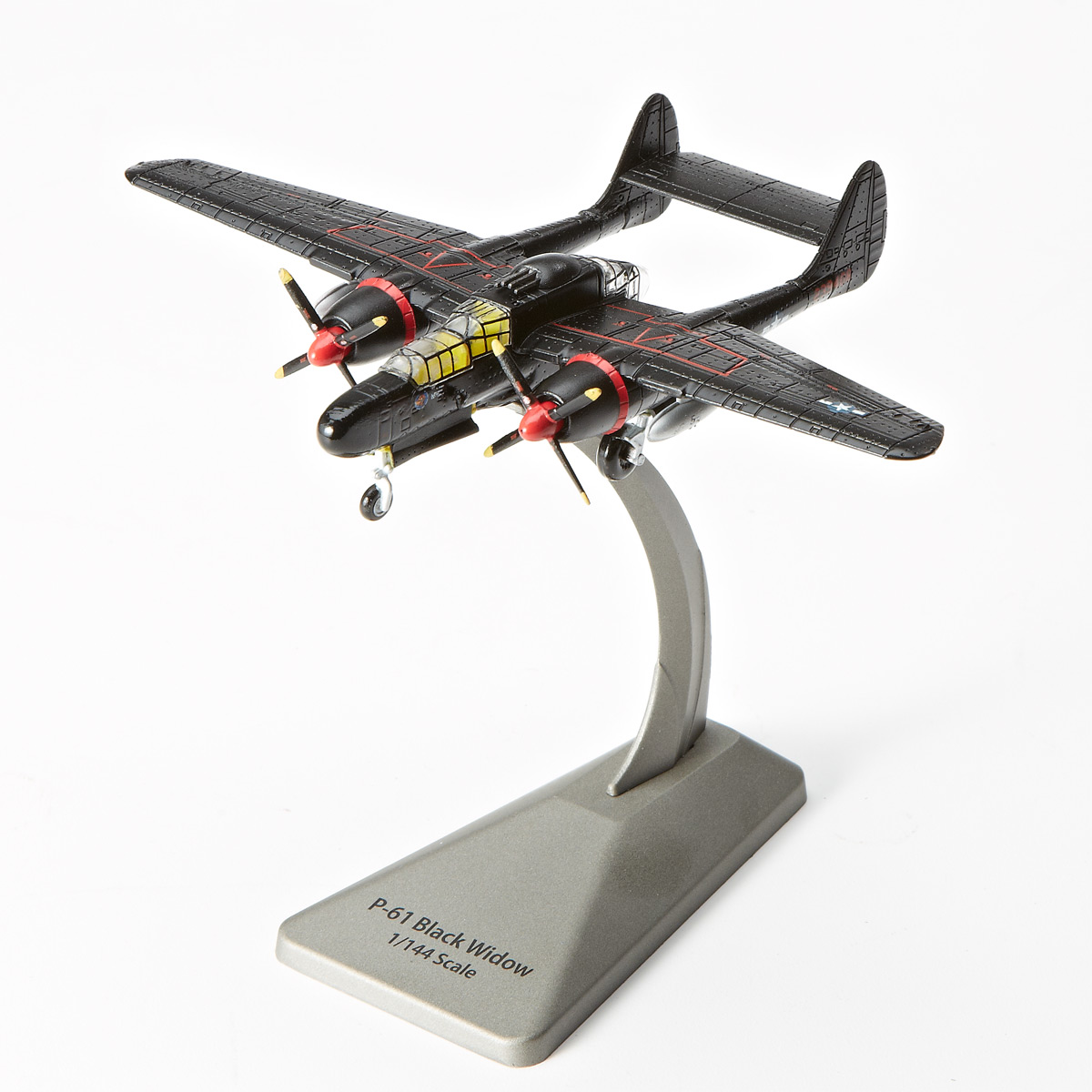N Scale - Smithsonian Collection - 0140 - Vehicle, Aircraft, P-61 Black Widow - United States Air Force