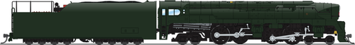 N Scale - Broadway Limited - 3291 - Locomotive, Steam, 4-4-4-4 T1 - Painted/Unlettered