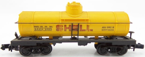N Scale - Arnold - 0484S - Tank Car, Single Dome, 39 Foot - Shell Oil - 2005