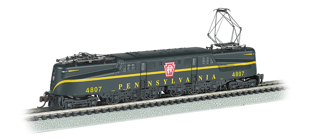 N Scale - Bachmann - 65351 - Locomotive, Electric, GG1 - Pennsylvania - 4807