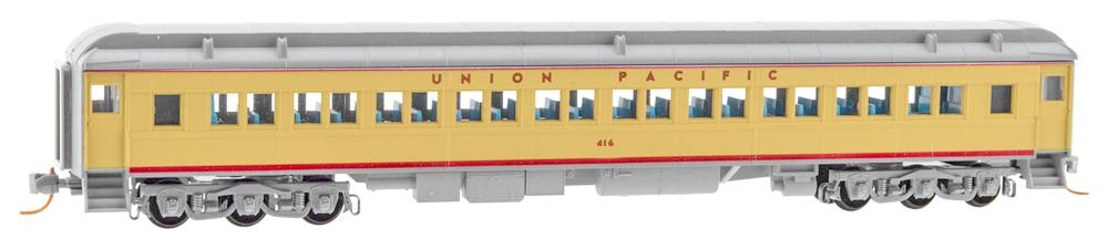 N Scale - Micro-Trains - 145 52 060 - Passenger Car, Heavyweight, Pullman, Paired Window Coach - Union Pacific - 416