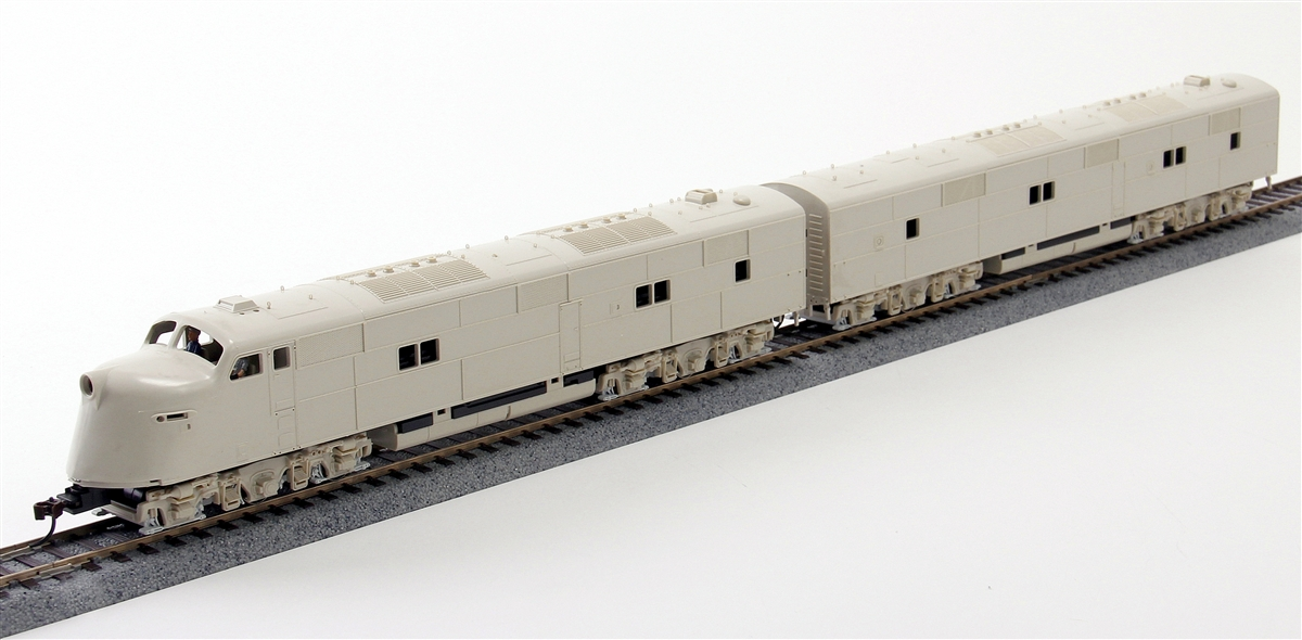 N Scale - Broadway Limited - 3013 - Locomotive, Diesel, EMD E6 - Undecorated