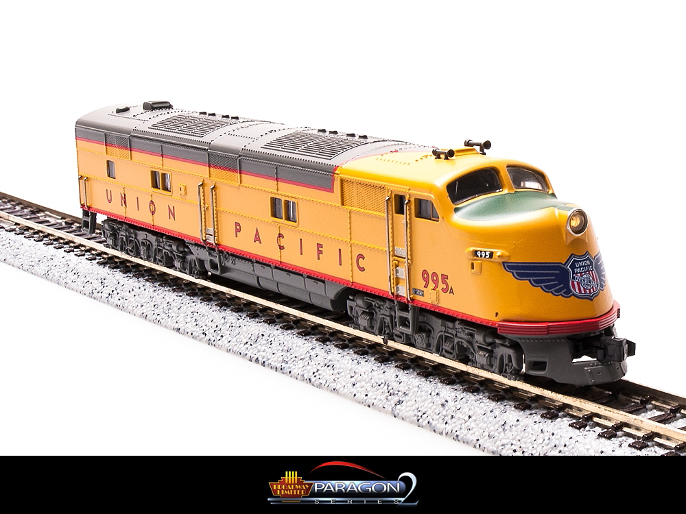 N Scale - Broadway Limited - 3022 - Locomotive, Diesel, EMD E6 - Union Pacific - 995