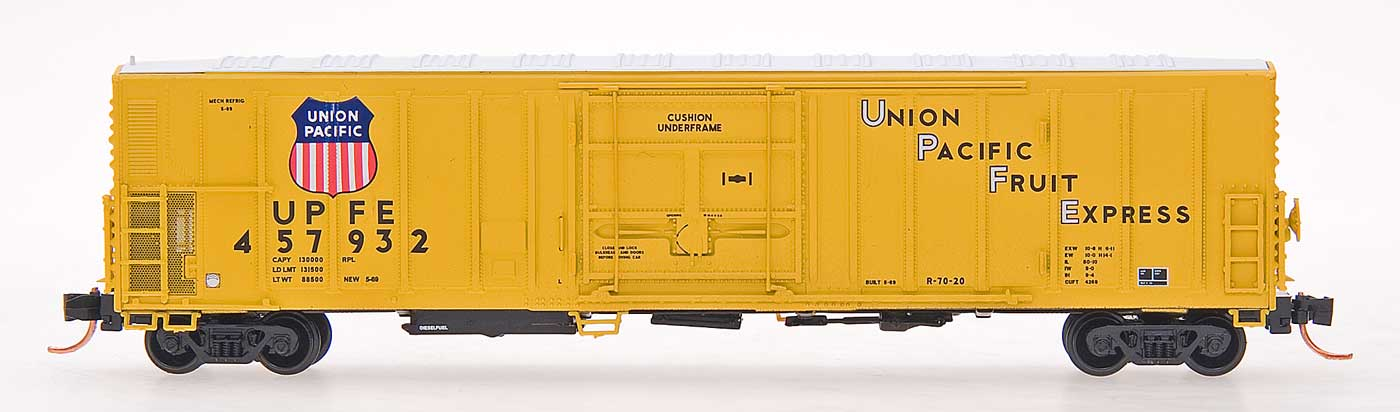 N Scale - InterMountain - 68805-09 - Reefer, 57 Foot, Mechanical, PC&F R-70-20 - Union Pacific - 457749