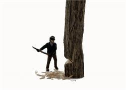 N Scale - Model Tech Studios - FN404P - Lumberjacks - People