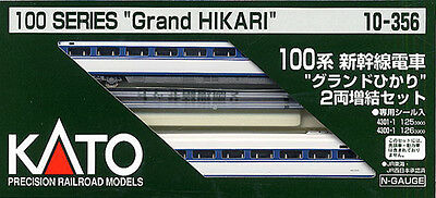 N Scale - Kato - 10-356 - Passenger Train, Electric, Shinkansen - Japan Railways Central - 100