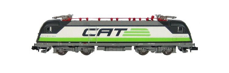 N Scale - Minitrix - 11610-A - Locomotive, Electric, Siemens ES64 U Taurus - ÖBB (Austrian Federal Railways) - 1116 142-9