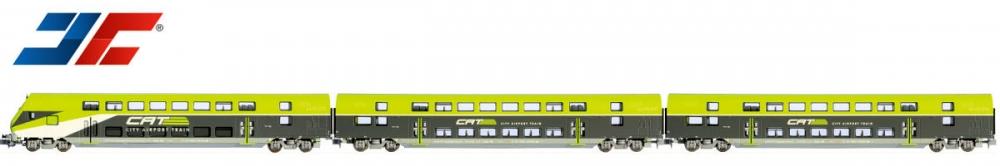 N Scale - Jägerndorfer - JC60302 - Passenger Train, Diesel, Europe, Epoch V - ÖBB (Austrian Federal Railways)