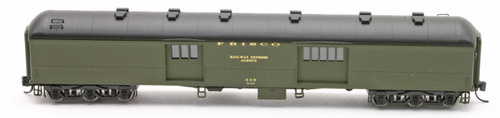 N Scale - Wheels of Time - 234 - Passenger Car, Heavyweight - Frisco - 439
