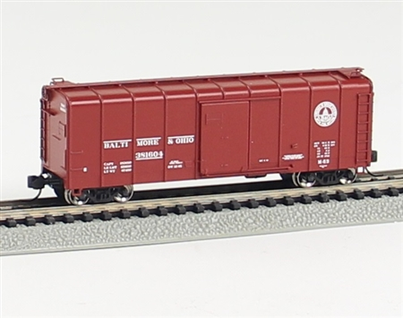 N Scale - Fox Valley - 90343 - Boxcar, 50 Foot, Wagontop - Baltimore & Ohio - 381239