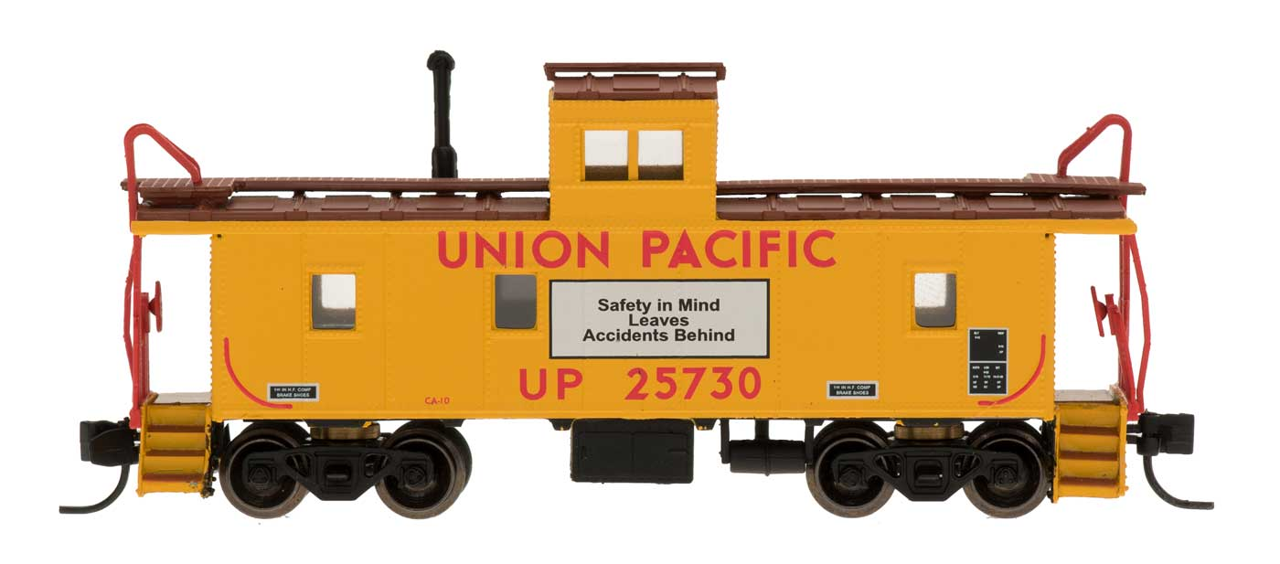 N Scale - Centralia Car Shops - NSE INT 12-32 - Caboose, Cupola, Steel - Union Pacific - 25730