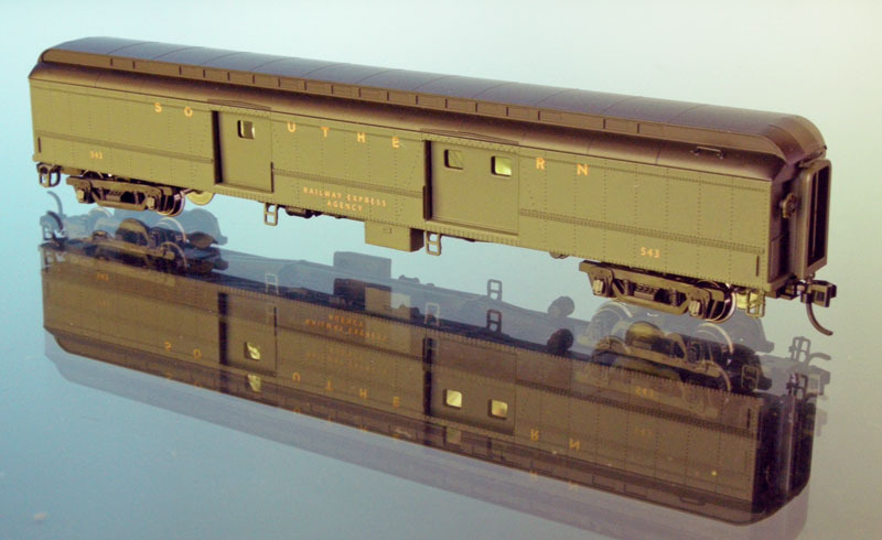 N Scale - Wheels of Time - 250 - Passenger Car, Heavyweight - Southern - 535