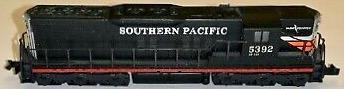 N Scale - Atlas - 4539 - Locomotive, Diesel, EMD SD9 - Southern Pacific - 5392