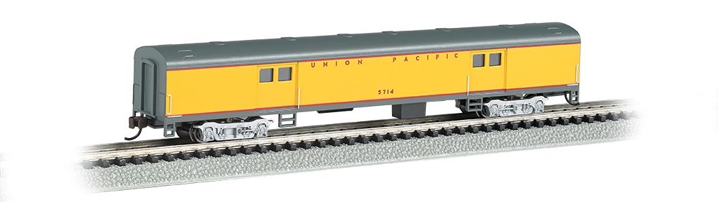N Scale - Bachmann - 14454 - Passenger Car, Lightweight, Budd - Union Pacific - 5714