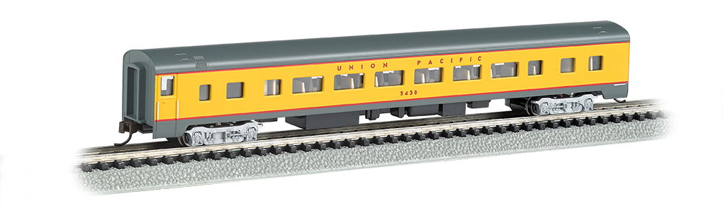 N Scale - Bachmann - 14254 - Passenger Car, Streamlined, Coach - Union Pacific - 5430